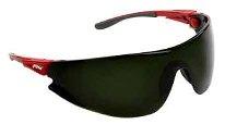 Veiligheidsbril 546 rood frame, disc groen5