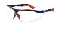 Uvex I-Vo 9160-065, Transparante PC ruit, optidur NC, blauw/oranje
