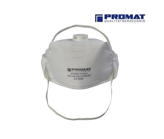 Promat Stofmasker FFP1 EN 149:2001 met ventiel 10stuks