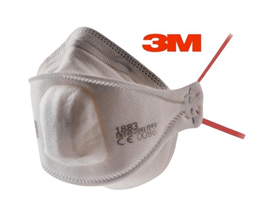 3M Stofmasker 2 weg bescherming FFP3 NR D 8 stuks 3M 1883+