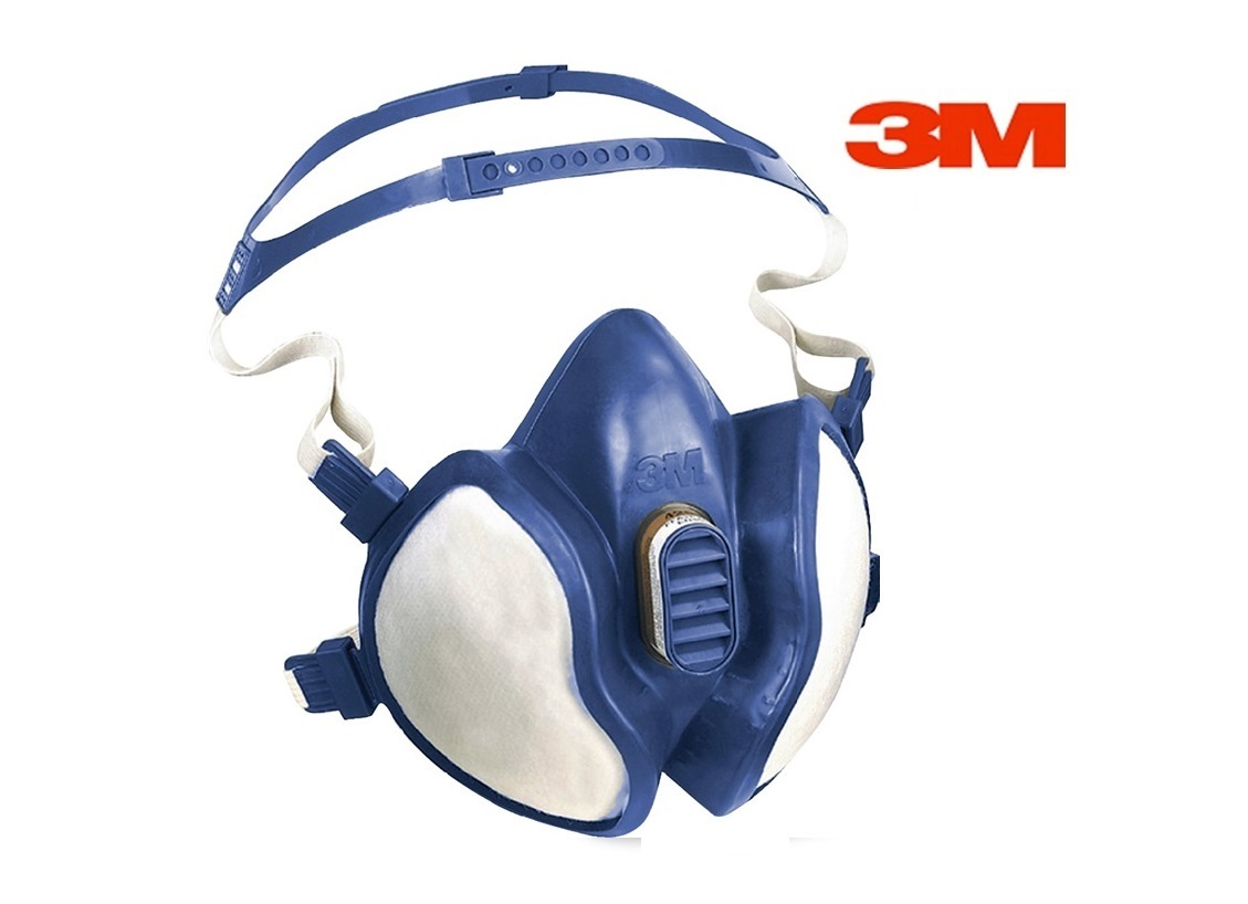 3M Halfgelaatsmasker FFA1P2D 3M 4251