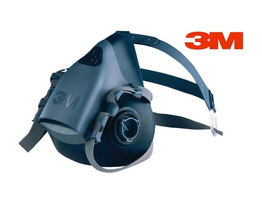 3M Halfgelaatsmasker siliconen Gr M 3M 7502