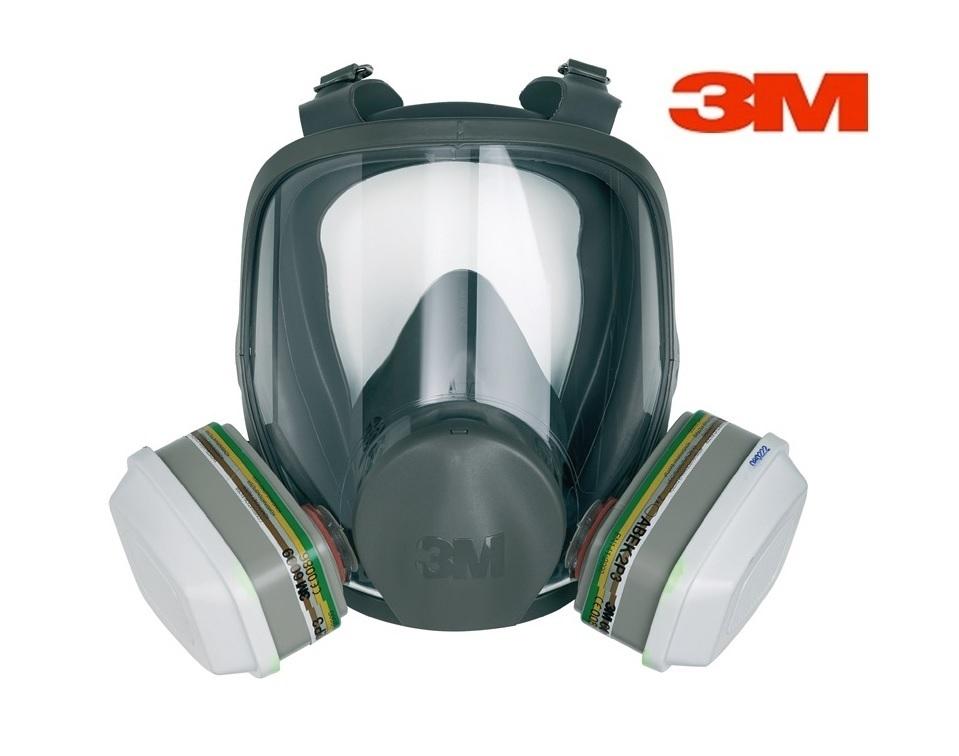 3M Volgelaatsmasker Siliconen Gr M 3M 6800