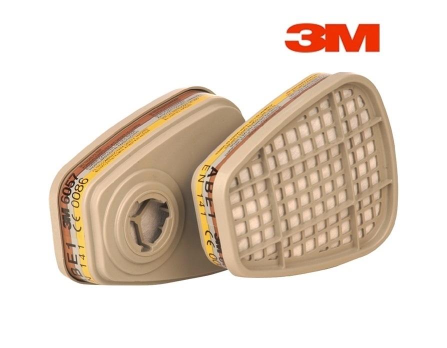 3M 6057 ABE1 gasfilter - dampfilter organische dampen 3M 6057