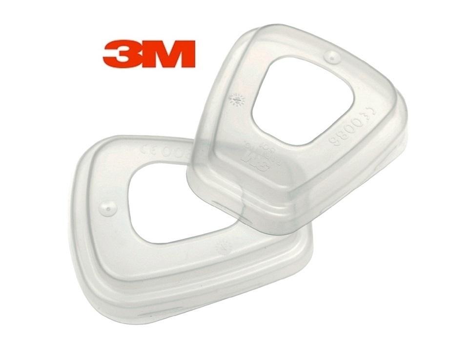 3M Filterdeksel 501 voor gecombineerde gas / Part.filter,3M 501