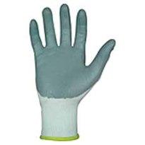 Nylon montage handschoen met nitril coating Maat. 9,
