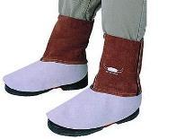 Weldas leren beenbeschermers voor been en schoen bescherming 15 cm lang,
