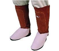 Weldas leren beenbeschermers voor been en schoen bescherming 36 cm lang,