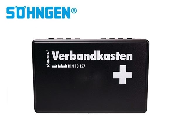 Söhngen Bedrijfsverbanddoos klein KIEL B260xH160xT80ca.mm zwart DIN 13157