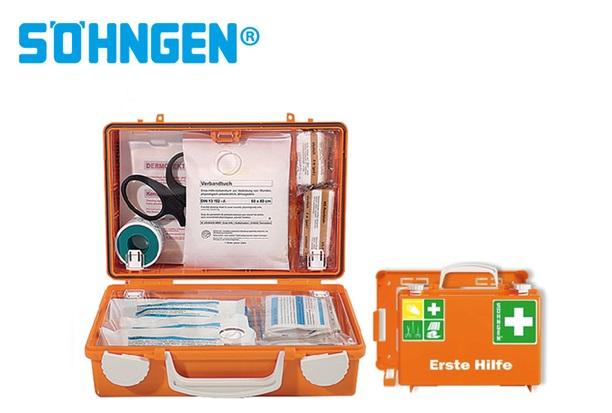 Söhngen EHBO-kit kleine Quick CD B260xH170xT110ca.mm oranje DIN 13157