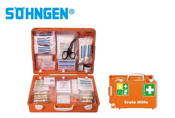 Söhngen EHBO-kit groot MT-CD B400xH300xT150ca.mm oranje DIN 13169
