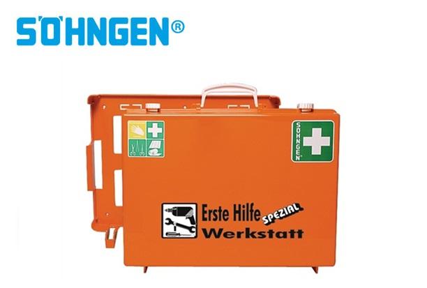 Söhngen EHBO koffer industrie werkplaats B400xH300xT150ca.mm oranje DIN 13157