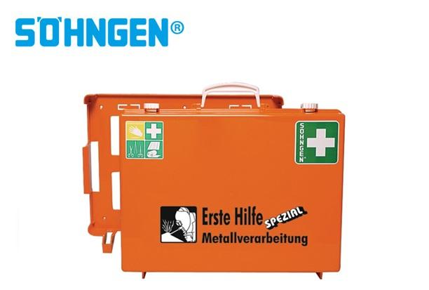 Söhngen EHBO koffer industrie metaalbewerking B400xH300xT150ca.mm oranje DIN 13157