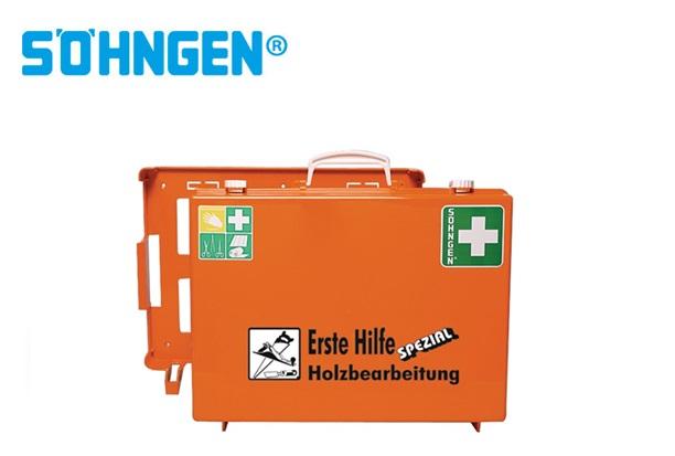 Söhngen EHBO koffer industrie houtbewerking B400xH300xT150ca.mm oranje DIN 13157