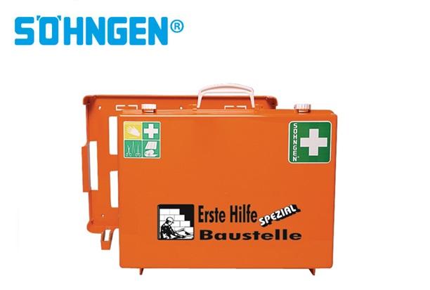 Söhngen EHBO koffer industrie bouwplaats B400xH300xT150ca.mm oranje DIN 13157