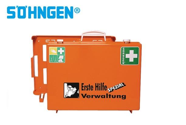 Söhngen EHBO koffer industrie administratie B400xH300xT150ca.mm oranje DIN 13157