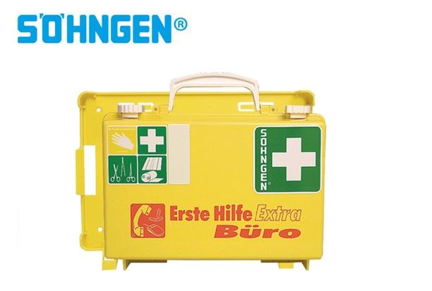 Söhngen EHBO-kit Extra kantoor B260xH170xT110ca.mm leuchtgelb DIN 13157