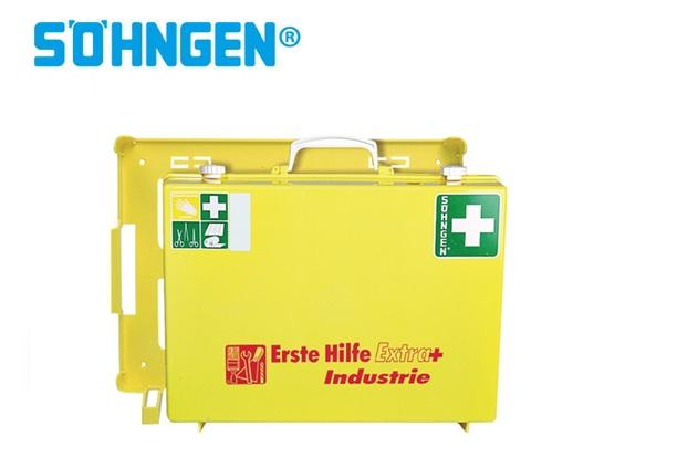 Söhngen EHBO-kit Extra + industrie B400xH300xT150ca.mm lichtgeel DIN 13157