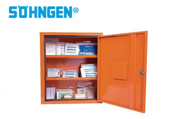 Söhngen hulp kabinet EUROSAFE B490xH560xT200ca.mm orange 1-deurs 1St./VE