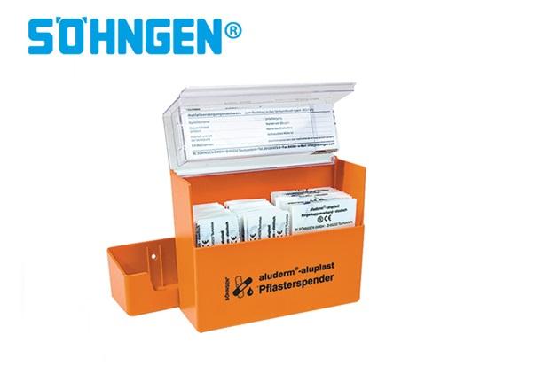 Söhngen pleisterdispenser aluderm®-aluplast 60x122x57mm