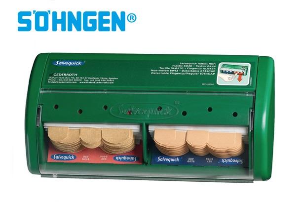 Söhngen Pleisterdispenser Salvequick basisuitrusting gevuld 220 xH.115xT.52mm