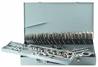 HSS Threading Tool Kit, M3-M24