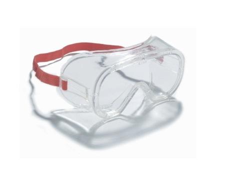 Overzetbril transparant heldere lens