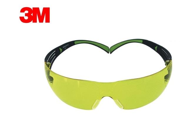 Veiligheidsbril securefit SF200 geel EN 166 EN 170 (AS/AF UV)