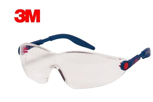Veiligheidsbril 2740-2741-2742 EN 166 1FT helder (AS/AF/UV, PC)