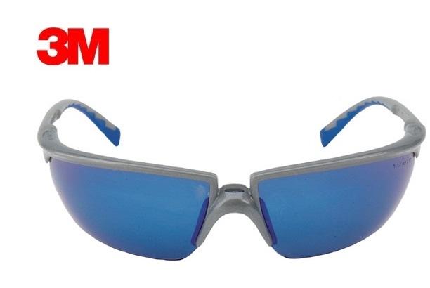 Veiligheidsbril SOLUS DIN EN166 EN170-1FT blauw (AS/AF/UV)