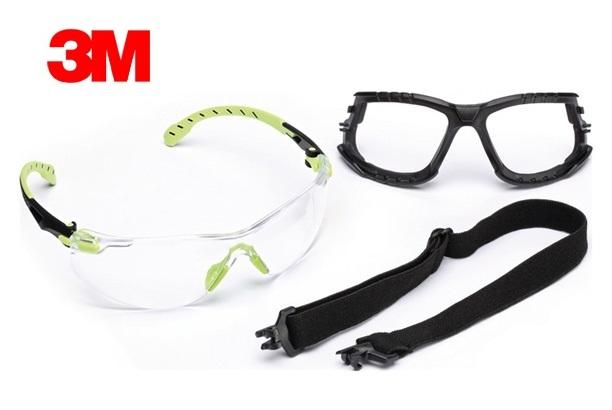 Veiligheidsbril Solus 1000-set EN166 EN170 EN172 SGAF/AS/AF