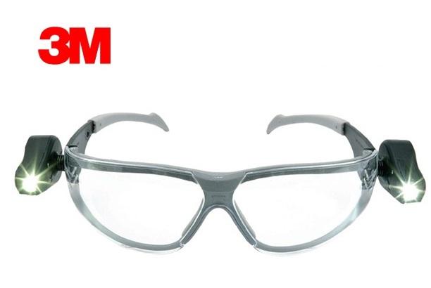 Veiligheidsbril LED light vision EN166