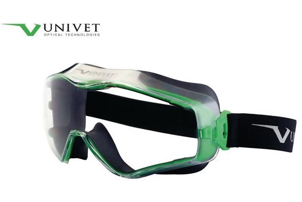 Veiligheidsbril volzicht 6X3 EN166 EN170