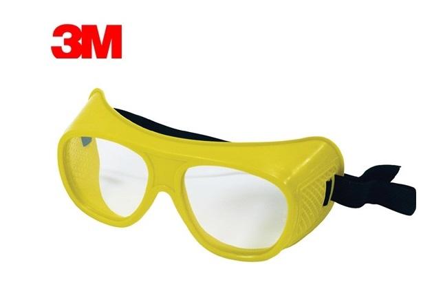 Veiligheidsbril volzicht EN166 voor brillendragers