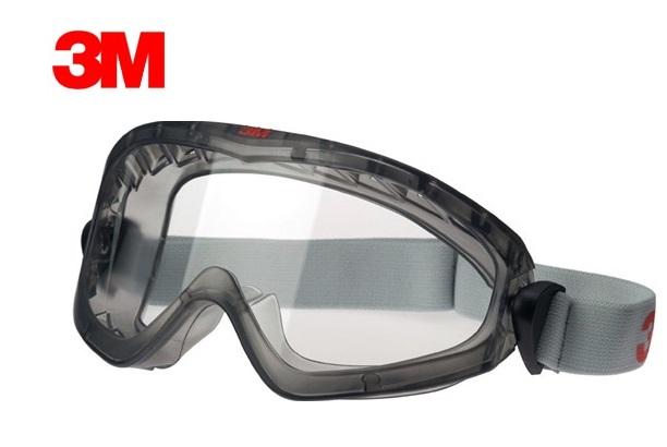 Veiligheidsbril volzicht 2890EN166 EN170 indirect geventileerd