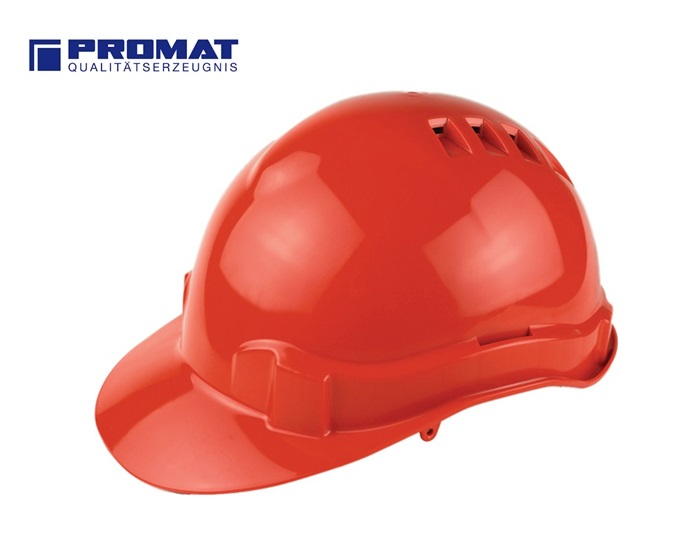 Veiligheidshelm ProCap Rood PE EN 397