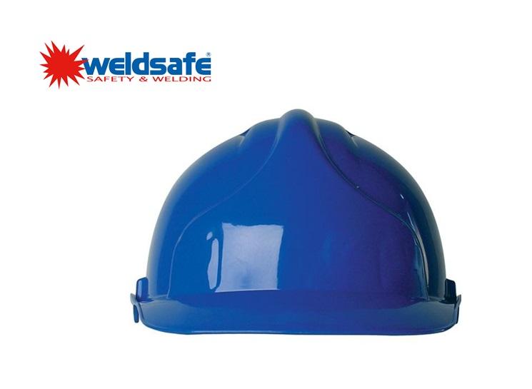Weldsafe veiligheidshelm blauw
