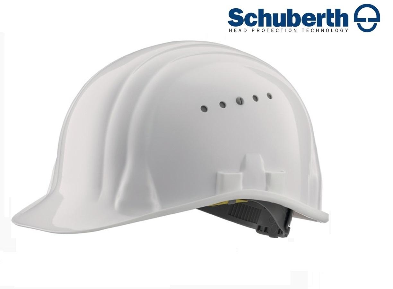 Veiligheidshelm Meesterbouwer 80/6 hoge druk polyethyleen EN 397 Wit