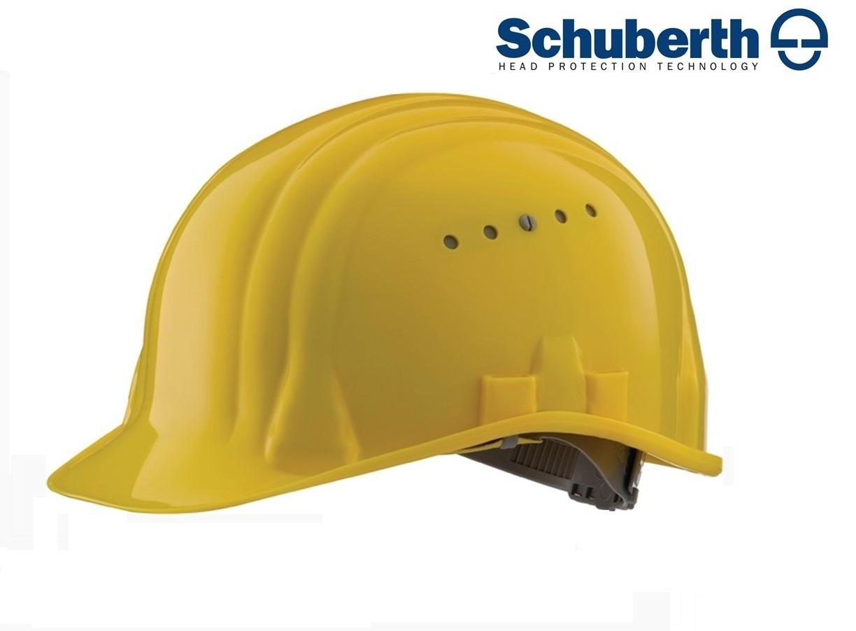 Veiligheidshelm Meesterbouwer 80/6 hoge druk polyethyleen EN 397 Geel
