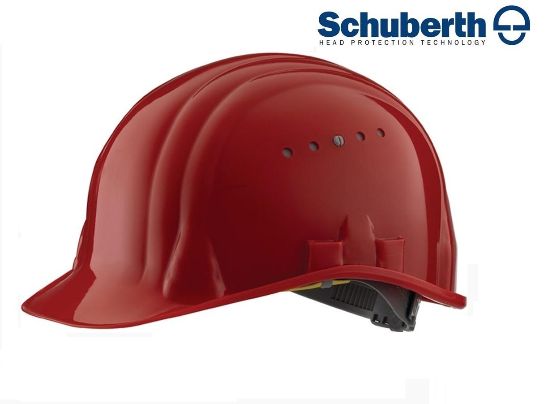 Veiligheidshelm Meesterbouwer 80/6 hoge druk polyethyleen EN 397 Rood