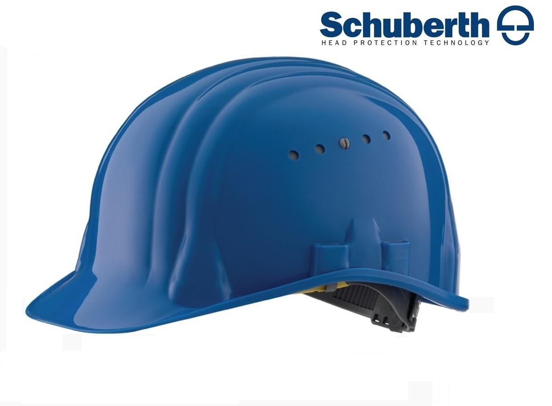 Veiligheidshelm Meesterbouwer 80/6 hoge druk polyethyleen EN 397 Blauw