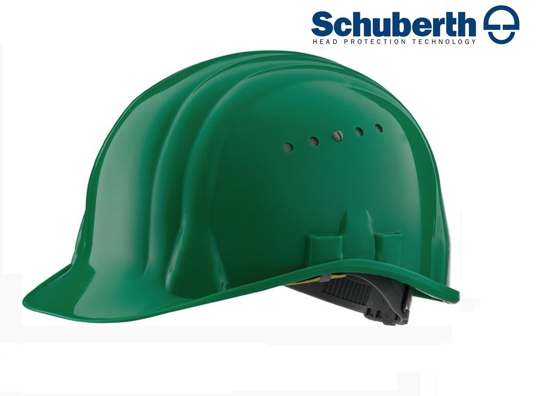 Veiligheidshelm Meesterbouwer 80/6 hoge druk polyethyleen EN 397 Groen