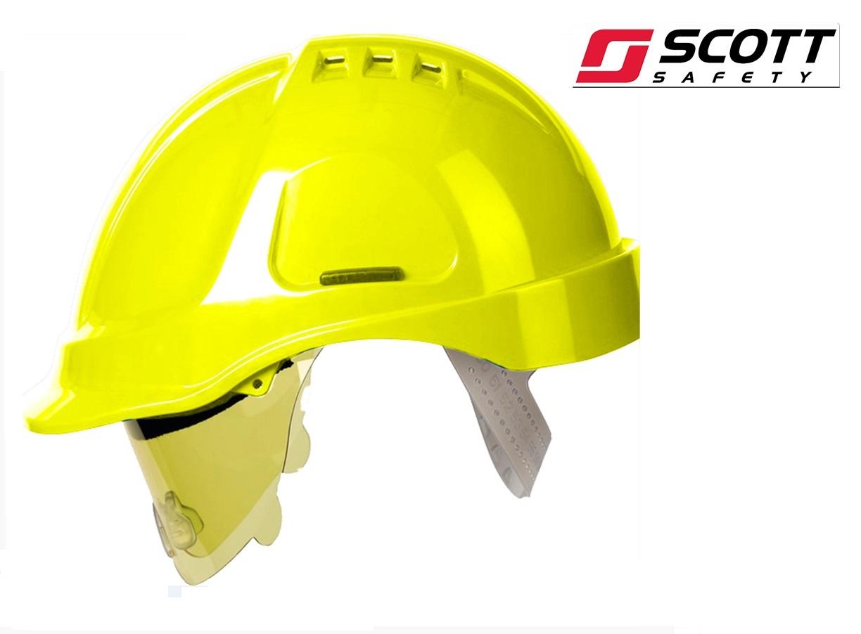 Veiligheidshelm Stijl 600 Hogedruk polyethyleen EN 397 Geel