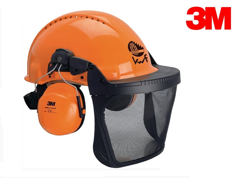 Bosbouw combinatie G3000M UV-gestabiliseerd materiaal EN 397 EN 352-3 Oranje