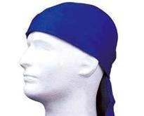 DOO-RAGS, blauw Hoofdbescherming