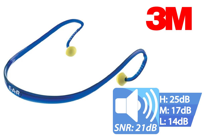 EAR ULTRAFIT X vervangbare oordopjes SNR = 21 dB