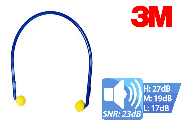 EAR Caps Beugeloordop per paar verpakt, 1 paar, EAR EC-01-000