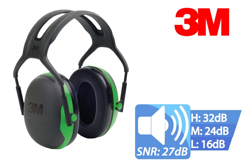 3M Peltor X1 Capsule gehoorbeschermer met hoofdband X1A