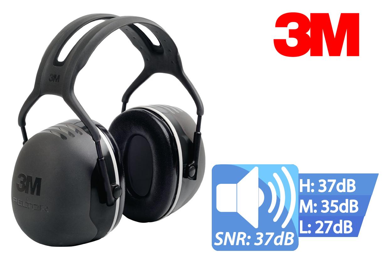 Peltor capsule oorbeschermer 37 dB X5A