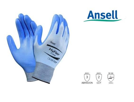 HyFlex 11-518 Handschoen Mt 8 Ansell